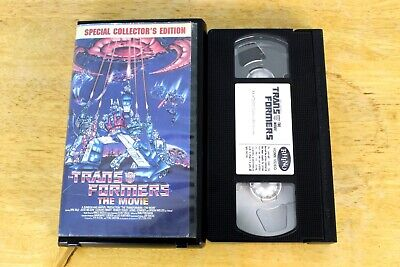 Transformers: The Movie VHS 1999 Clamshell Collector's Edition Optimus Prime