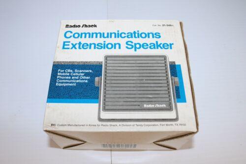 Radio Shack Realistic Communications Extension Speaker 5 Watt  21-549b in Box