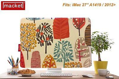 "Screen Cover Dust Jacket - Apple iMac Desktop  27"" - Tree - MACKET - UK Made"