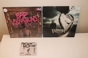 Bullet for My Valentine and A Day to Remember Vinyls