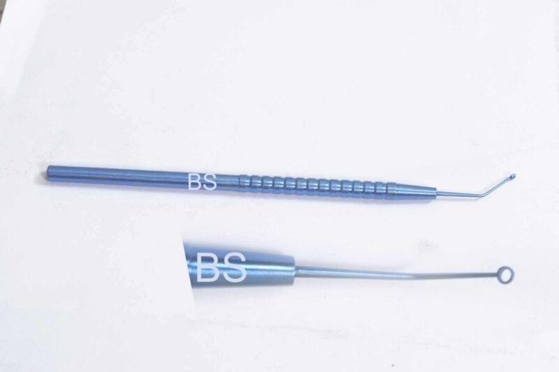 NIGHTINGALE posterior capsule polisher overall length 127mm TITANIUM Eye Surgery