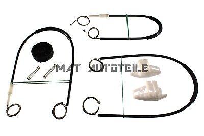 Elevalunas Juego de Reparación Kit Renault Megane 2 II Frontal Derecho