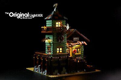 LED Lighting kit fits LEGO ® Ideas Old Fishing Store 21310