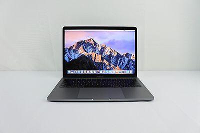 """2016 Apple MacBook Pro 13"""" Retina SPACE GRAY 2.0GHz i5 8GB RAM 256GB + WARRANTY!"""