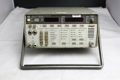 Hp Hewlett Packard 4935a Transmission Test Set - Unit Only See Photos