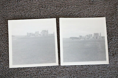 Lot PHOTOGRAPHS OLD BW Photos MIX L7 STONEHENGE holiday snaps as shown 50s DS