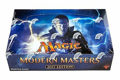 2017 Modern Masters Mtg  Magic The Gathering  Factory Sealed 4 Box Booster Case