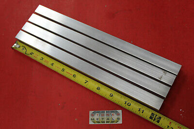 4 Pieces 34x 34x 18 Wall X 12 Long Aluminum Square Tube 6063 T52 .5 Id