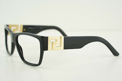 VERSACE Mod. 4296 GB1/87 Polished Black/Gold 59-16-145 3N Sunglasses Frames