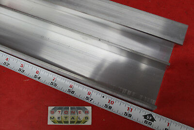 2 Pieces 2-14 X 1 X 18 Wall 6061 T6 Aluminum Channel 60 Long Mill Stock