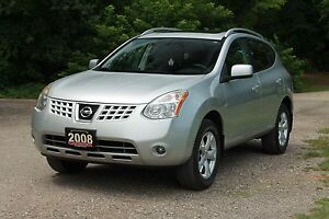 2008 Nissan Rogue SL   AWD   Leather   Sunroof   CERTIFIED