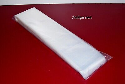 100 Clear Poly Bags 3 X 26 Plastic Posters Sleeves Open Top Uline Best 2 Mil