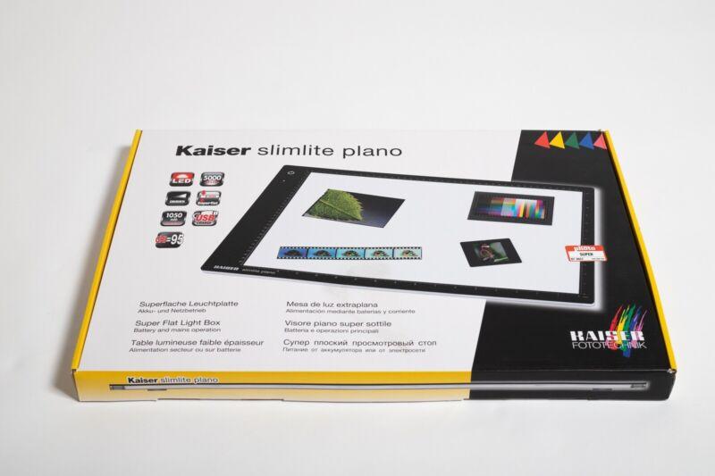 "Kaiser Slimlite Plano 2455 16.9""x12.2"" 42.9cm X 30.9cm Negative Film Scan Photo"