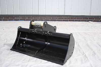 Grabenräumlöffel Baggerlöffel Aufnahme MS01 800 mm NEU: mit Transporthaken