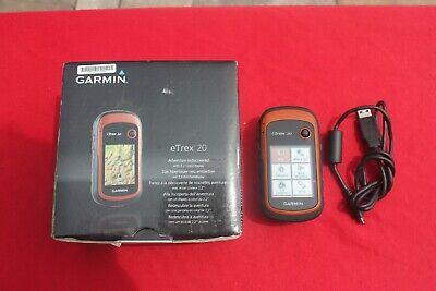Garmin eTrex 20 Handheld GPS Navigator Color Display-Geocaching
