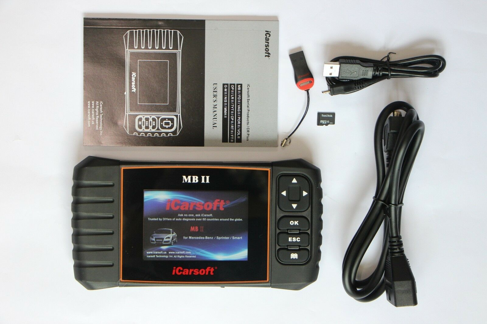 Mercedes benz sprinter diagnostic scanner tool srs abs for Mercedes benz scan tool