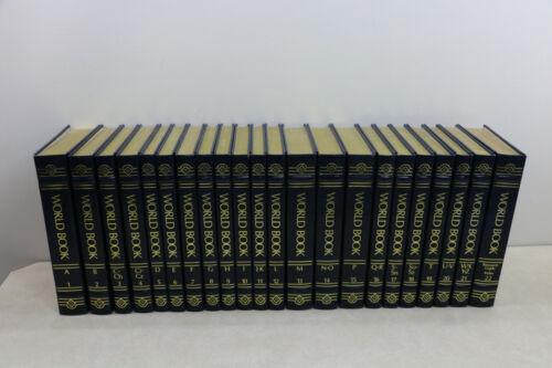 Beautiful 1989 World Book Encyclopedia Set Complete 22 Volume