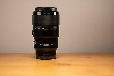 Sony FE 90mm F2.8 Macro G OSS Lens (SEL90M28G) E Mount
