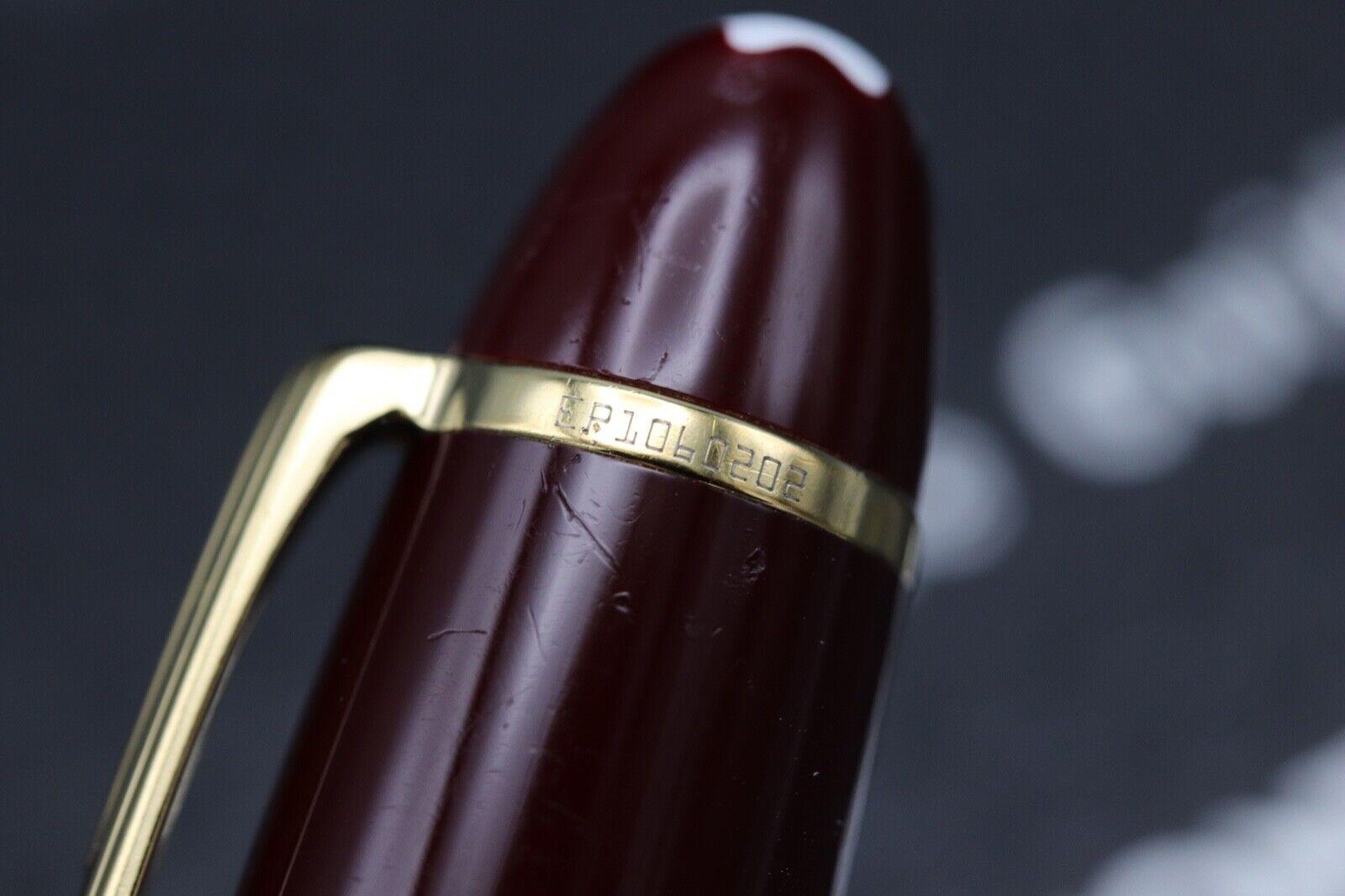 Montblanc Meisterstuck 161 LeGrand Bordeaux Ballpoint Pen 3