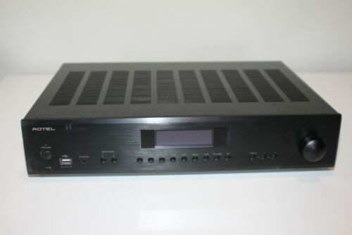 Rotel A12 A-12 120W 2.0 Ch Integrated Amplifier - Black