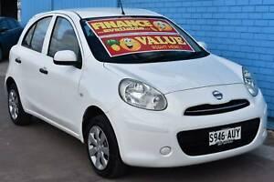 2012 Nissan Micra K13 ST Hatchback 5dr Auto 4sp 1.2i Enfield Port Adelaide Area Preview