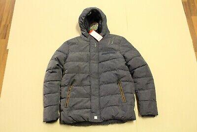 S Oliver Winterjacke für Kinder, Jacke mit Kaputze für Jungen Gr 164 L J1 Neu