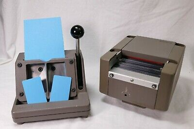 Polaroid Laminator Photo Id Die Cutter 2.75 X 1.75