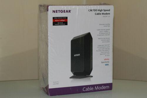 NETGEAR CM700-100NAS Cable Modem New