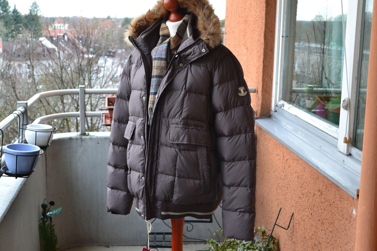 Dolomite Fitzroy  Jacke Daunenparka Echtfell Pelzkragen Herren Gr.XL,NP:379€,