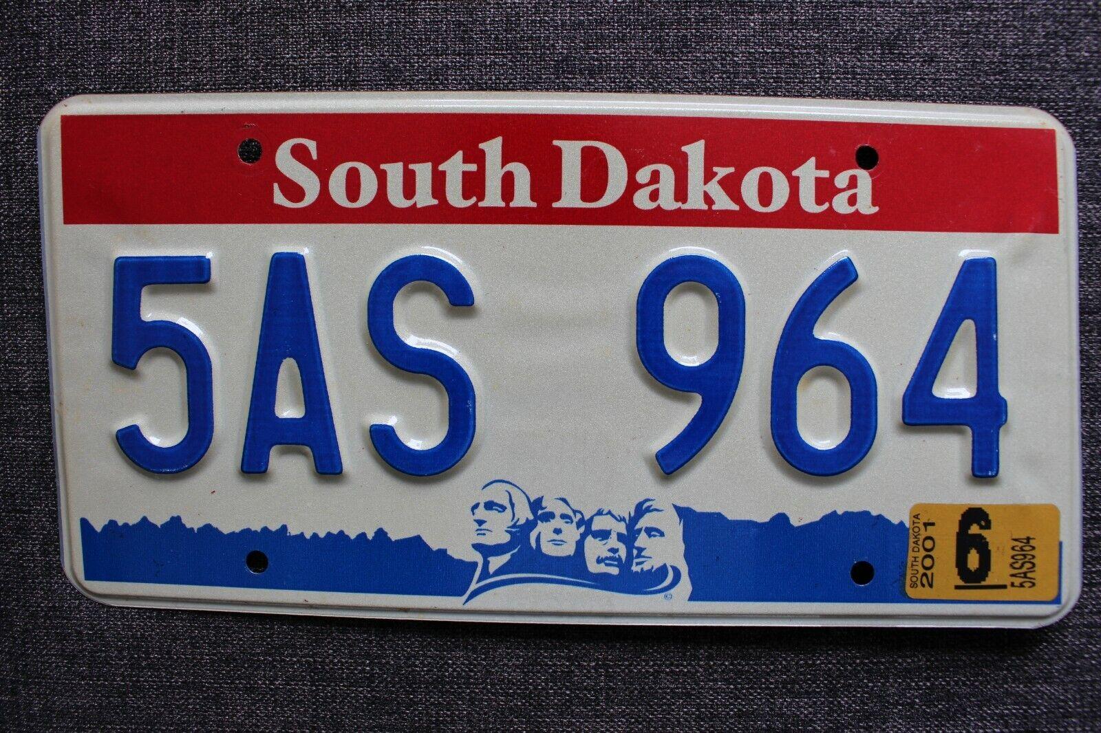 *SOUTH DAKOTA* USA / US / Amerika / Kennzeichen / Nummernschild / License Plate