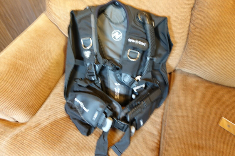 Aqualung Balance BCD Size: M with Knife