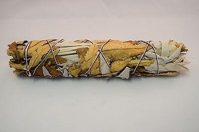 "White Sage + Yerba Santa Smudge Incense 8""-9"" Bundle (3 pcs)"