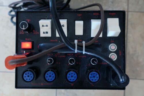 SPEEDOTRON 2405cx Studio Strobe Flash Power Pack w/Power Cord & Cable