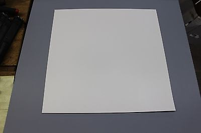 .030 Thick Snow White Polypropylene Plastic Sheet 36 X 48 Light Diffusing
