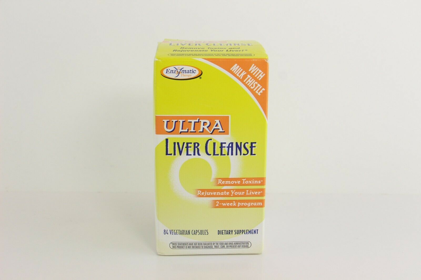LOT OF 2 Enzymatic Therapy Ultra Liver Cleanse 84 Vegetarian