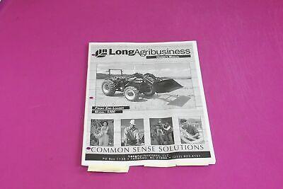 Long Agribusiness Model 5300 Front End Loader Owners Manual.