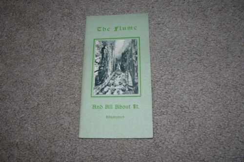 1923 The Flume Franconia Notch NH Brochure, Story by Guy Roberts