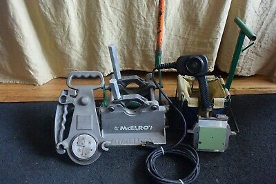 Mcelroy Model 2lc Fusion Machine Welder Set Heater Facer 2