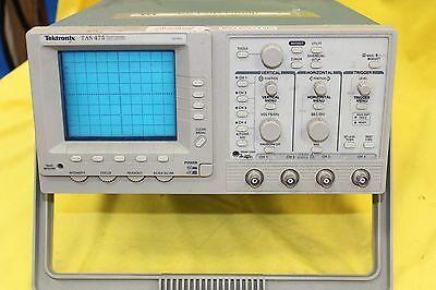Tektronix Model Tas475 100mhz Four Channel Oscilloscope