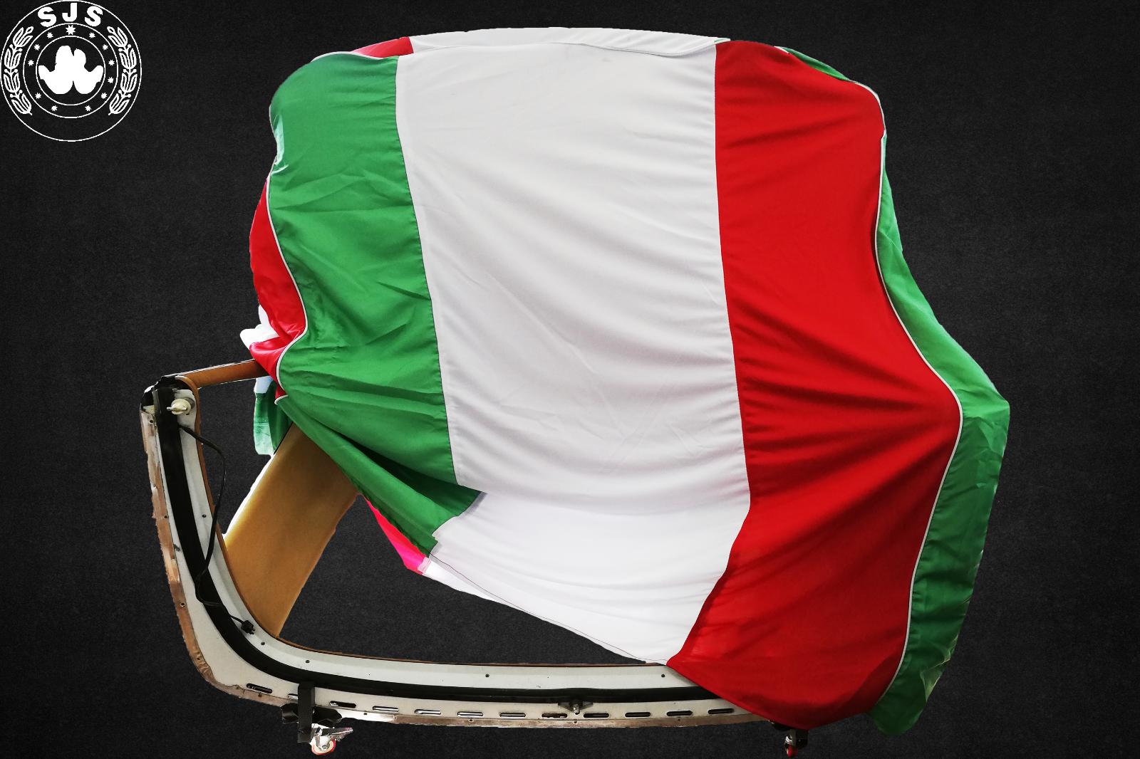 Hardtopcover Staubschutzhülle cover Italienflagge für Mercedes SL W113 Pagode