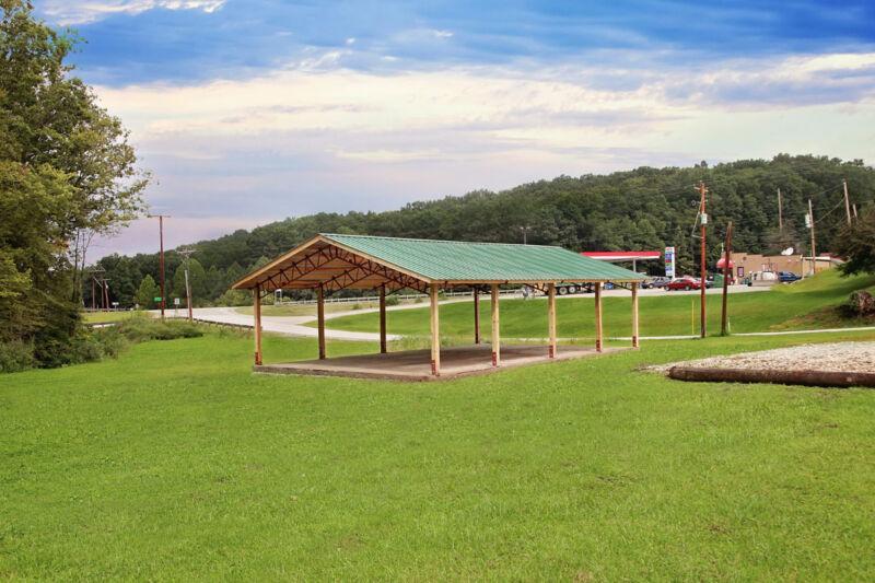 Steel truss pole barn 40x60x12