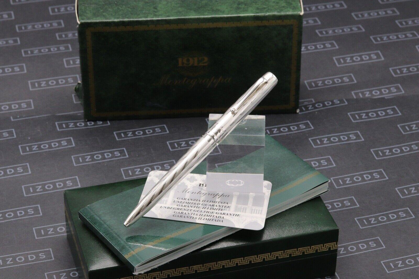 Montegrappa Series 402 Sterling Silver 1055VI Ballpoint Pen