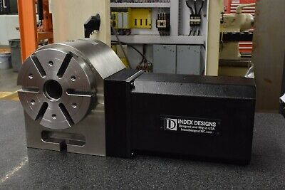 Used 160mm Rotary Table Cnc - Index Designs Llc