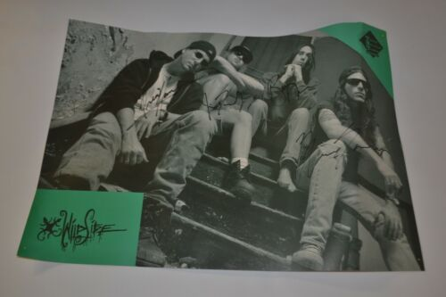 WildSide Heavy Metal Band Signed Poster 21 x 15 inches.