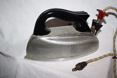 """Vintage Clothes Iron HOPE PRODUCTS INC """"Mermaid"""" cloth cord steam works"""