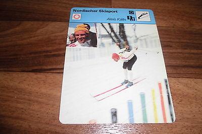 ALOIS KÄLIN / Nordischer Skisport -- Editions Rencontre S.A. Lausanne 1978