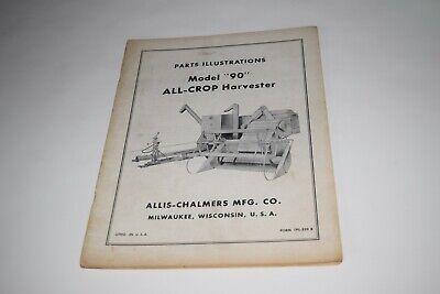 Allis Chalmers Model 90 All-crop Harvester Parts Illustrations
