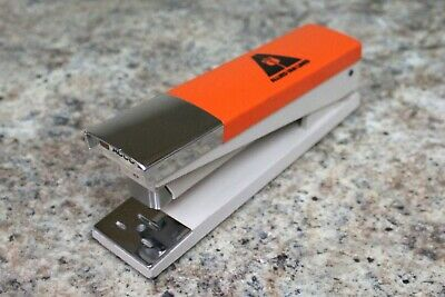 Vintage 1970s Acco 20 Advertising Stapler Allied Van Lines - Orange