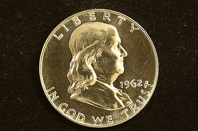 Click now to see the BUY IT NOW Price! 1962 GEM PROOF FRANKLIN HALF LT. CAMEO