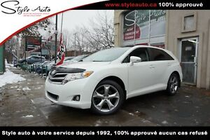 2013 Toyota Venza LIMITED Familiale V6 AWD CUIR TOIT PANORAMIQUE